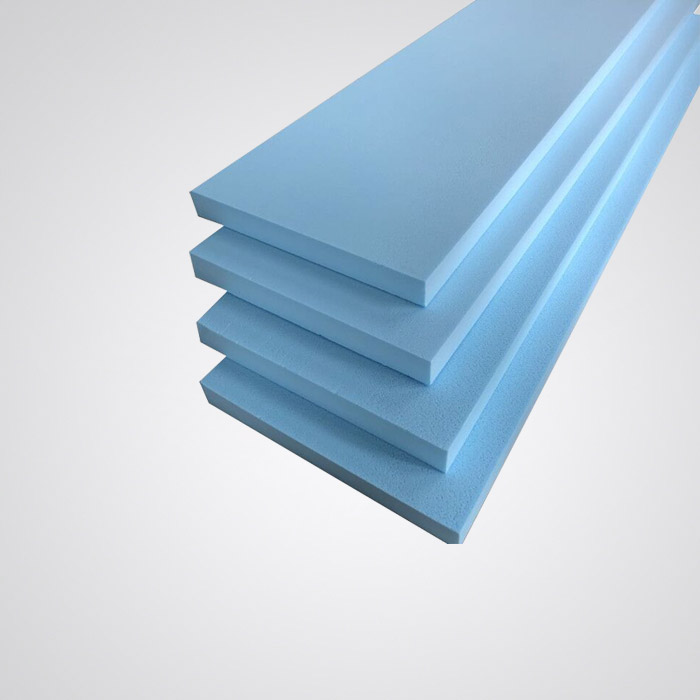 What are the performance characteristics of floor heating extruded panels?